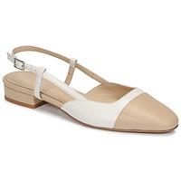 Sapatos Mulher Sandálias Jonak DHAPOU Bege / Branco