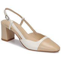 Sapatos Mulher Escarpim Jonak DHAPOP Bege / Branco