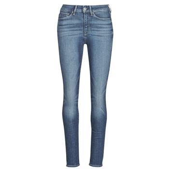 Textil Mulher Gangas Skinny G-Star Raw 3301 Ultra High Super Skinny Wmn Azul