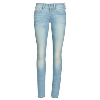 Textil Mulher Gangas Skinny G-Star Raw Lynn Mid Skinny Wmn Azul