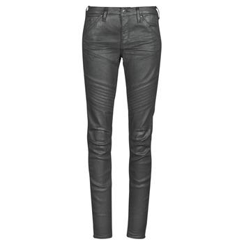 Textil Mulher Gangas Skinny G-Star Raw 5620 Custom Mid Skinny wmn Preto