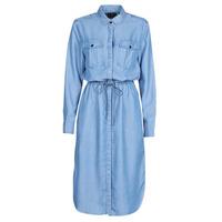 Textil Mulher Vestidos compridos G-Star Raw Rovic maxi shirt dress ls Azul