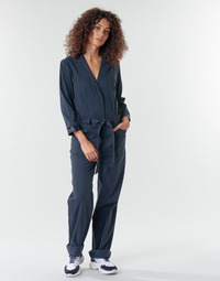 Textil Mulher Macacões/ Jardineiras G-Star Raw Workwear pj jumpsuit 34 slv wmn Azul