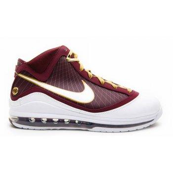 Sapatos Sapatilhas de cano-alto Nike LeBron 7 ?CTK? Deep Maroon/Metallic Gold-White
