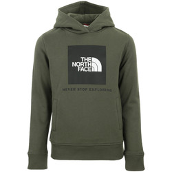 Textil Criança Sweats The North Face New Box Hoodie Kids Verde