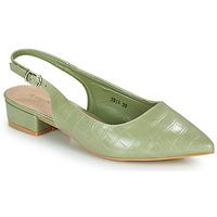Sapatos Mulher Escarpim Moony Mood OGORGEOUS Verde / Amêndoa