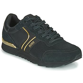 Sapatos Homem Sapatilhas BOSS ARDICAL RUNN NYMX2 Preto / Ouro