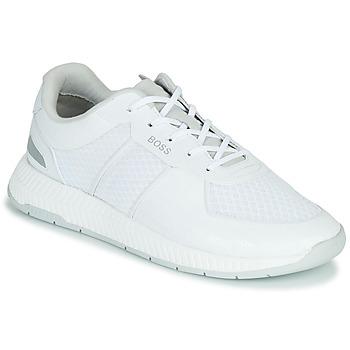 Sapatos Homem Sapatilhas BOSS TITANIUM RUNN MEMLLG Branco