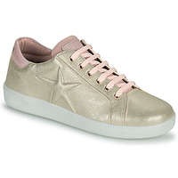 Sapatos Rapariga Sapatilhas Bisgaard TILDE Ouro