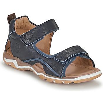 Sapatos Rapaz Sandálias desportivas Bisgaard CASPAR Marinho