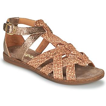Sapatos Rapariga Sandálias Bisgaard CELINE Ouro