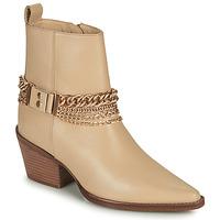 Sapatos Mulher Botas Bronx JUKESON Bege