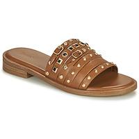 Sapatos Mulher Sandálias Bronx THRILL Castanho / Ouro