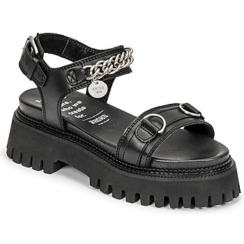 Sapatos Mulher Sandálias Bronx GROOVY SANDAL Preto