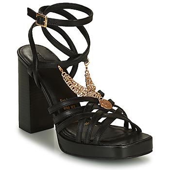 Sapatos Mulher Sandálias Bronx NEW RENEE Preto