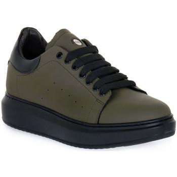 Sapatos Homem Sapatilhas Exton GOMMA MILITARE Verde