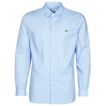 Textil Homem Camisas mangas comprida Lacoste PITTA Azul