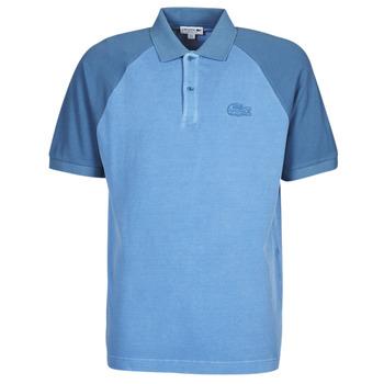 Textil Homem Polos mangas curta Lacoste POLO PH9745 Azul
