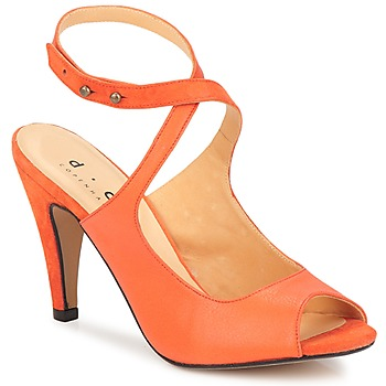 Sapatos Mulher Sandálias D.Co Copenhagen MARISSA Laranja