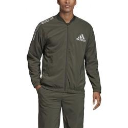 Textil Homem Casacos fato de treino adidas Originals  Verde