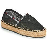 Sapatos Mulher Alpargatas Love Moschino JA10373G1C Preto
