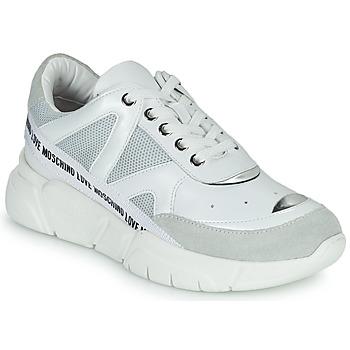 Sapatos Mulher Sapatilhas Love Moschino JA15323G1C Branco