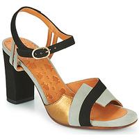 Sapatos Mulher Sandálias Chie Mihara Bega Preto / Cinza