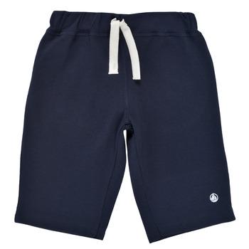 Textil Rapaz Shorts / Bermudas Petit Bateau LAVIEN Marinho
