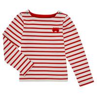 Textil Rapariga T-shirt mangas compridas Petit Bateau MAHALIA Multicolor