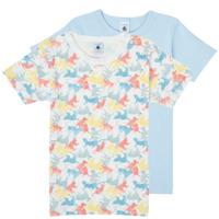Textil Rapaz T-Shirt mangas curtas Petit Bateau MANUR Multicolor