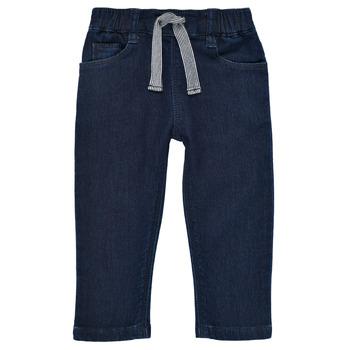Textil Rapaz Calças de ganga slim Petit Bateau MILET Azul