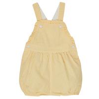 Textil Rapariga Macacões/ Jardineiras Petit Bateau MERINE Amarelo