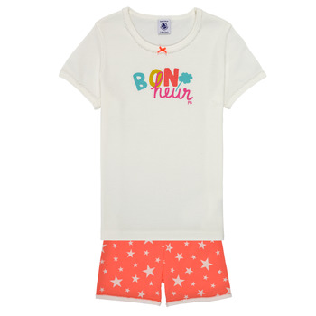 Textil Rapariga Pijamas / Camisas de dormir Petit Bateau MARSHA Multicolor
