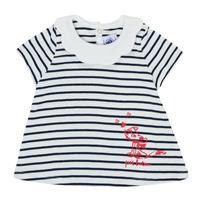 Textil Rapariga T-Shirt mangas curtas Petit Bateau MELIANE Multicolor