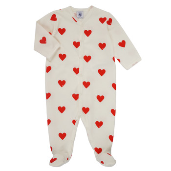 Textil Rapariga Pijamas / Camisas de dormir Petit Bateau MESCOEURS Branco