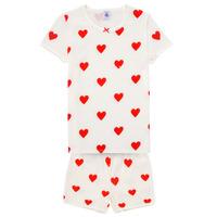Textil Rapariga Pijamas / Camisas de dormir Petit Bateau MICOURT Multicolor