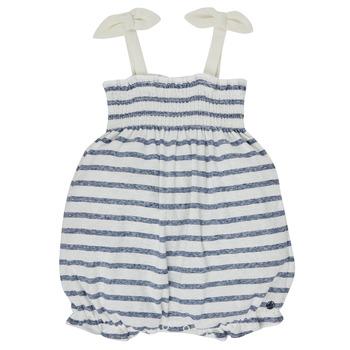 Textil Rapariga Macacões/ Jardineiras Petit Bateau MILLY Multicolor