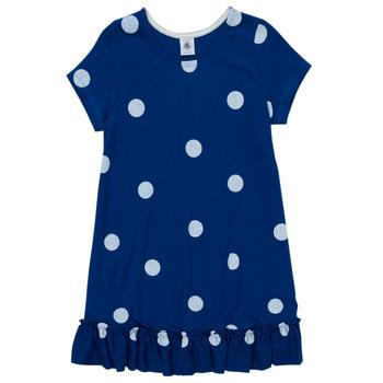 Textil Rapariga Vestidos curtos Petit Bateau MALICETTE Marinho