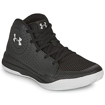 Sapatos Criança Sapatilhas de basquetebol Under Armour GS JET 2019 Preto