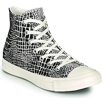 Sapatos Mulher Sapatilhas de cano-alto Converse CHUCK TAYLOR ALL STAR DIGITAL DAZE HI Preto / Bege