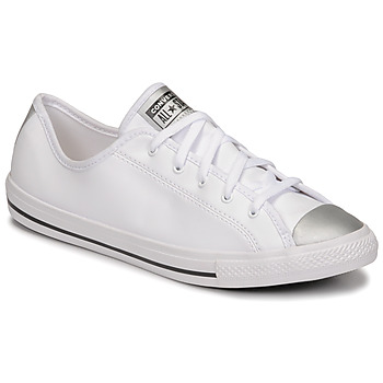 Sapatos Mulher Sapatilhas Converse CHUCK TAYLOR ALL STAR DAINTY ANODIZED METALS OX Branco