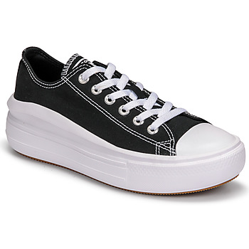 Sapatos Mulher Sapatilhas Converse CHUCK TAYLOR ALL STAR MOVE CANVAS COLOR OX Preto