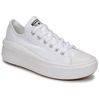 Sapatos Mulher Sapatilhas Converse CHUCK TAYLOR ALL STAR MOVE CANVAS COLOR OX Branco