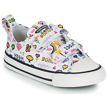 Sapatos Rapariga Sapatilhas Converse CHUCK TAYLOR ALL STAR 2V GIRLS GAMER OX Branco / Multicolor