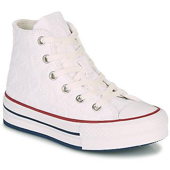 Sapatos Rapariga Sapatilhas de cano-alto Converse CHUCK TAYLOR ALL STAR LIFT LOVE CEREMONY HI Branco