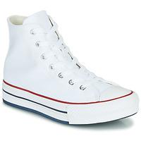 Sapatos Rapariga Sapatilhas de cano-alto Converse CHUCK TAYLOR ALL STAR EVA LIFT CANVAS COLOR HI Branco