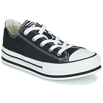 Sapatos Rapariga Sapatilhas Converse CHUCK TAYLOR ALL STAR EVA LIFT EVERYDAY EASE OX Preto