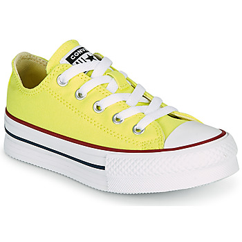 Sapatos Rapariga Sapatilhas Converse CHUCK TAYLOR ALL STAR LIFT CANVAS COLOR OX Amarelo
