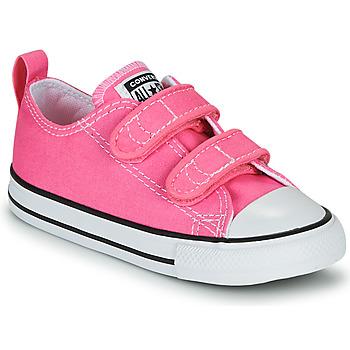 Sapatos Rapariga Sapatilhas Converse CHUCK TAYLOR ALL STAR 2V  OX Rosa