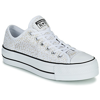 Sapatos Mulher Sapatilhas Converse CHUCK TAYLOR ALL STAR LIFT BREATHABLE OX Branco